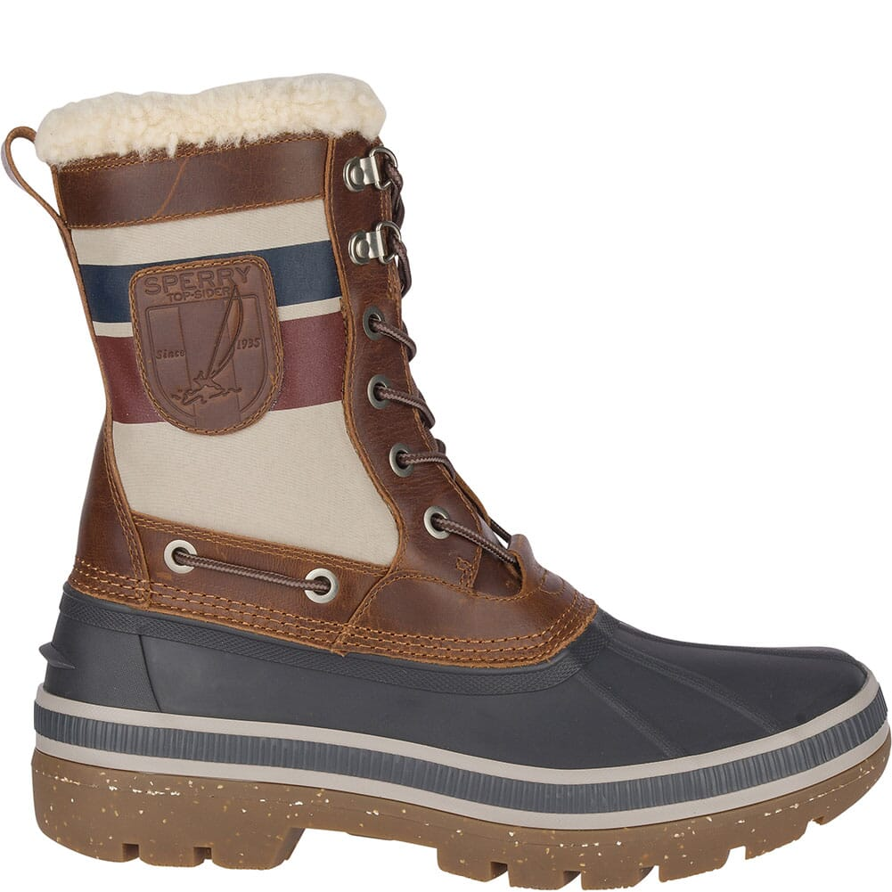 Sperry Men's Ice Bay Tall Pac Boots - Brown/Natural