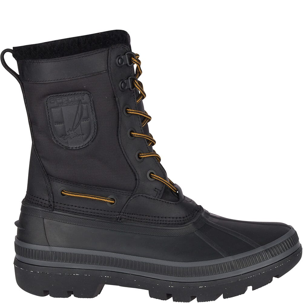 Sperry Men's Ice Bay Tall Pac Boots - Black