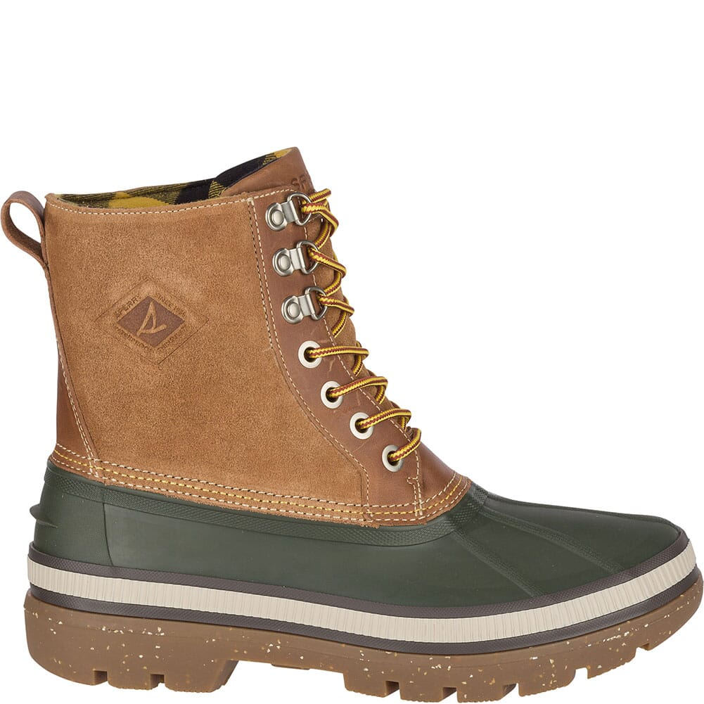 Sperry Men's Ice Bay Tall Pac Boots - Olive/Tan