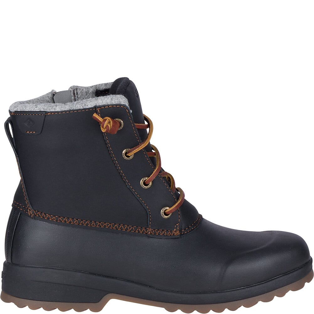Sperry Women's Maritime Repel Snow Pac Boots - Black