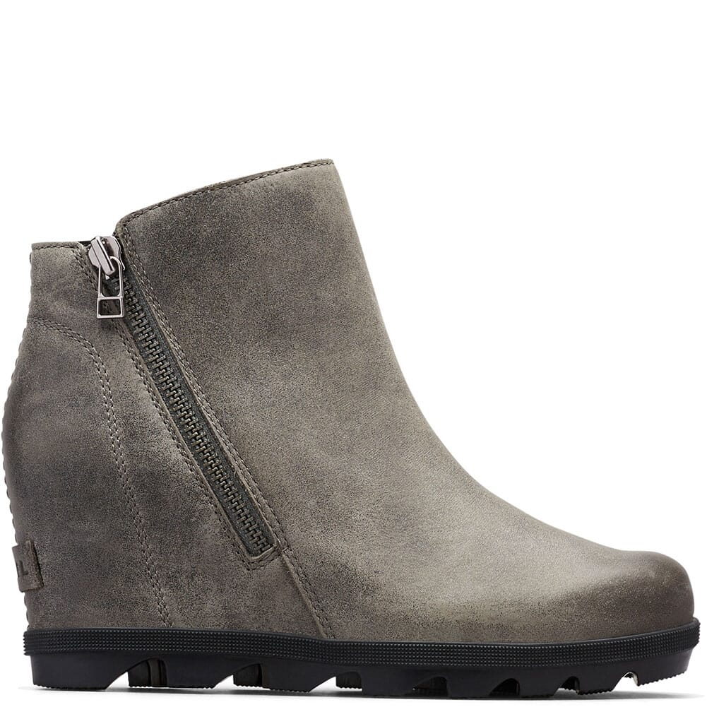 Sorel Women's Joan Artic Wedge II Casual Boots - Quarry