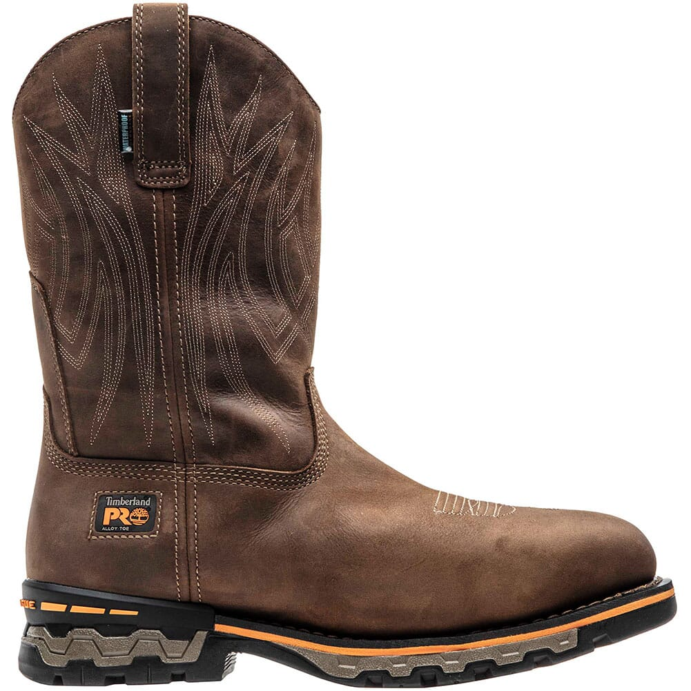 1001A214 Timberland Pro Men's AG BOSS Safety Boots - Distressed Brown