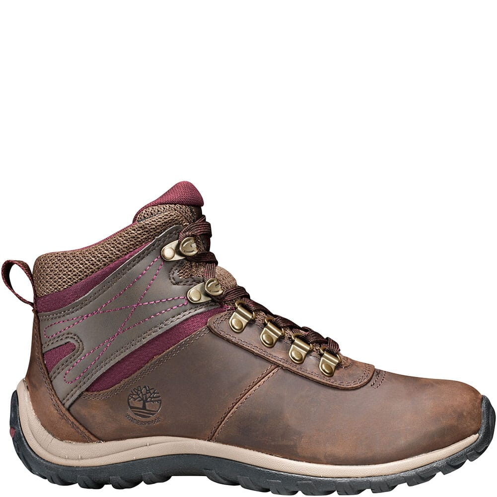 Timberland Women's Norwood Mid WP Hiking Boots - Brown