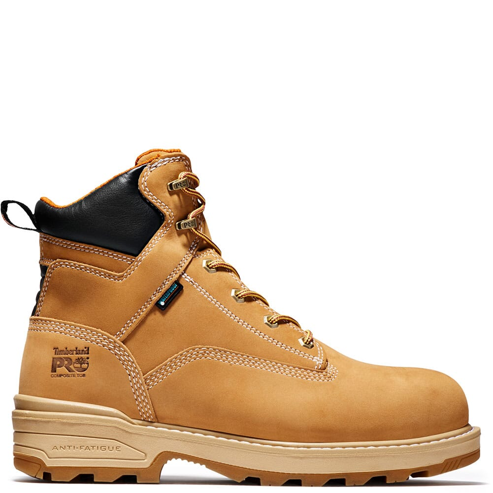 0A121H231 Timberland PRO Men's Resistor WP INS Safety Boots - Wheat