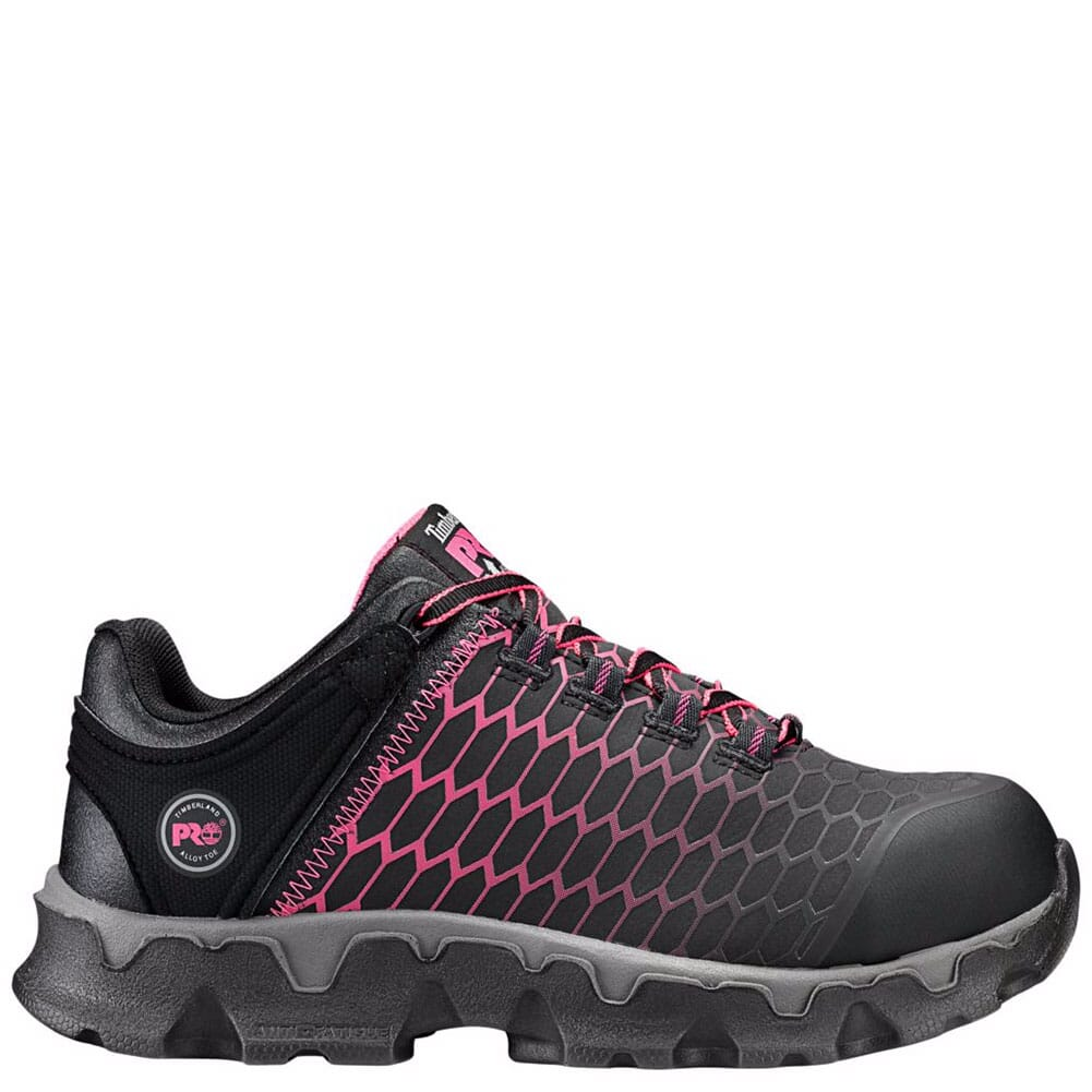 Timberland PRO Women's Powertrain EH Safety Shoes - Black/Pink