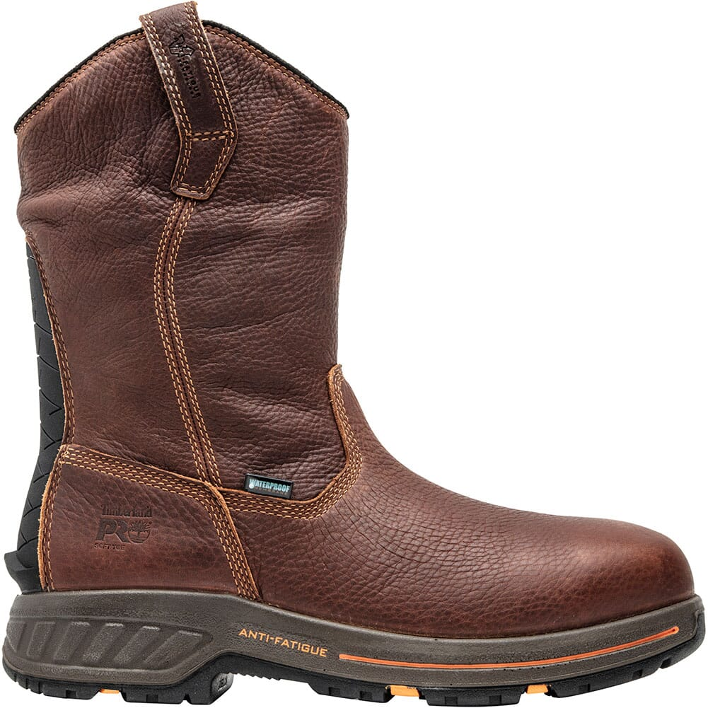 Timberland Pro Men's Helix HD Work Boots - Red Brown