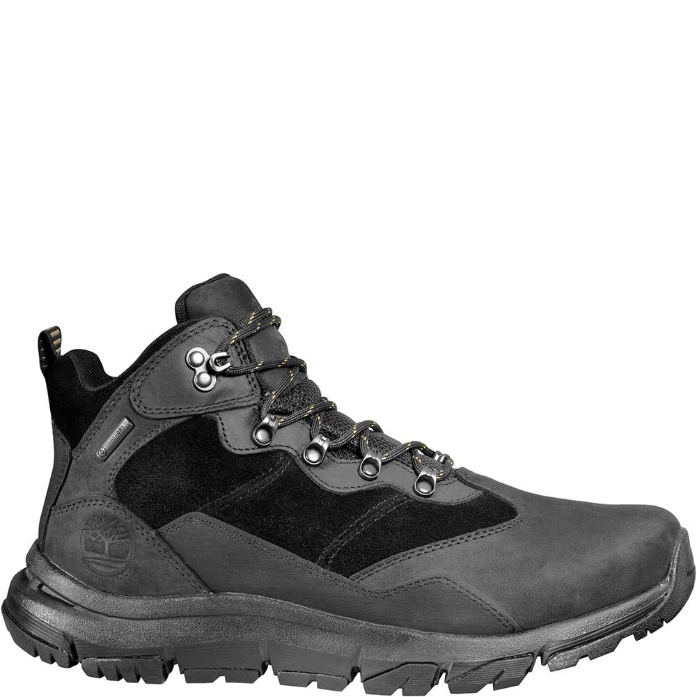 Timberland Men's Garrison Field Mid WP Hiking Boots - Black