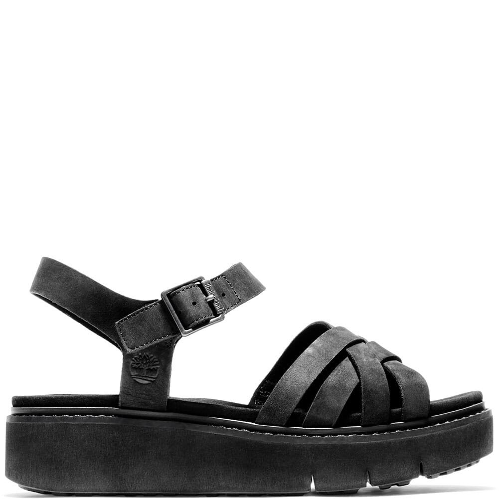 A26HF015 Timberland Women's Safari Dawn Multi-Strap Sandals - Black
