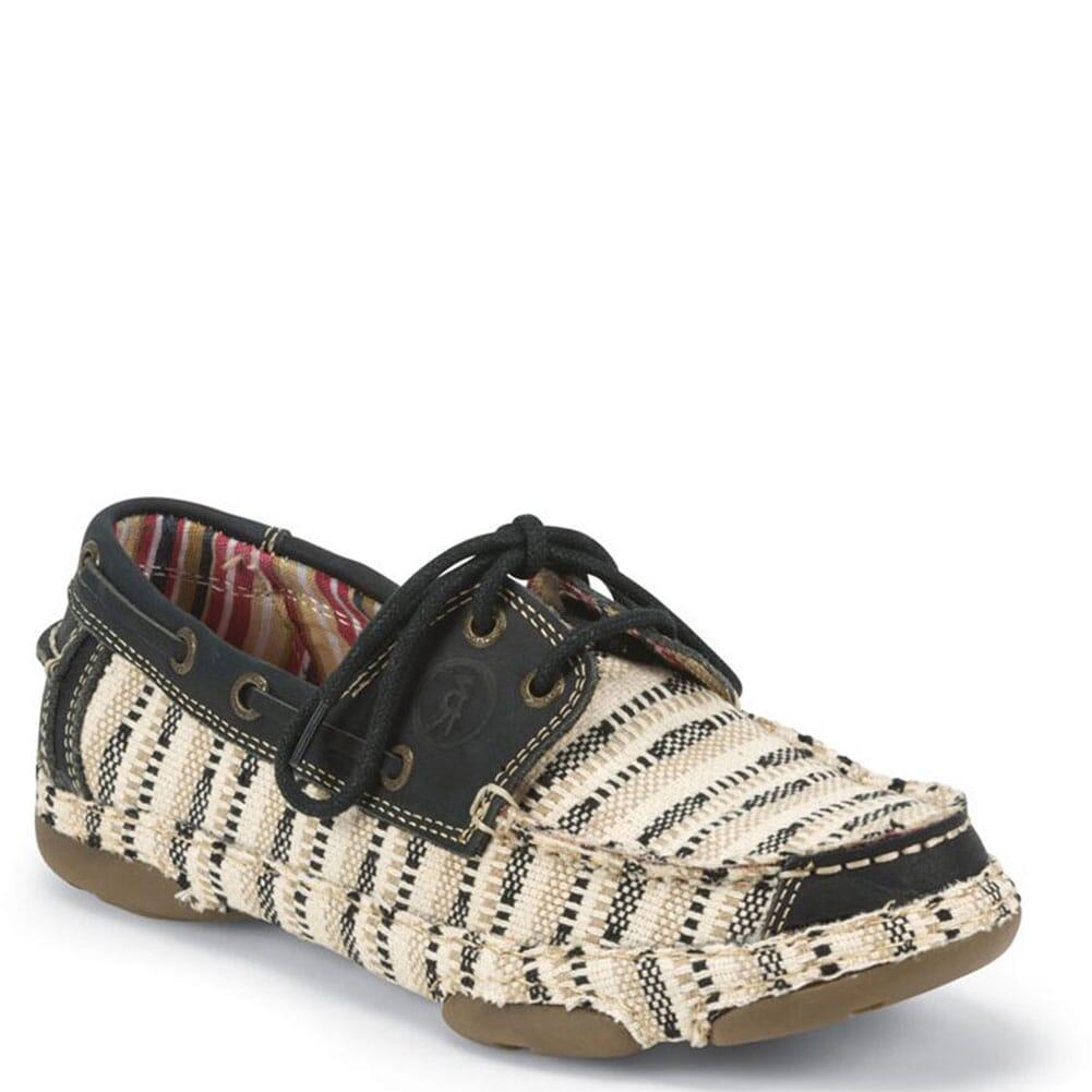 RR3034L Tony Lama Women's Lindale II Casual Shoes - Black/Tan
