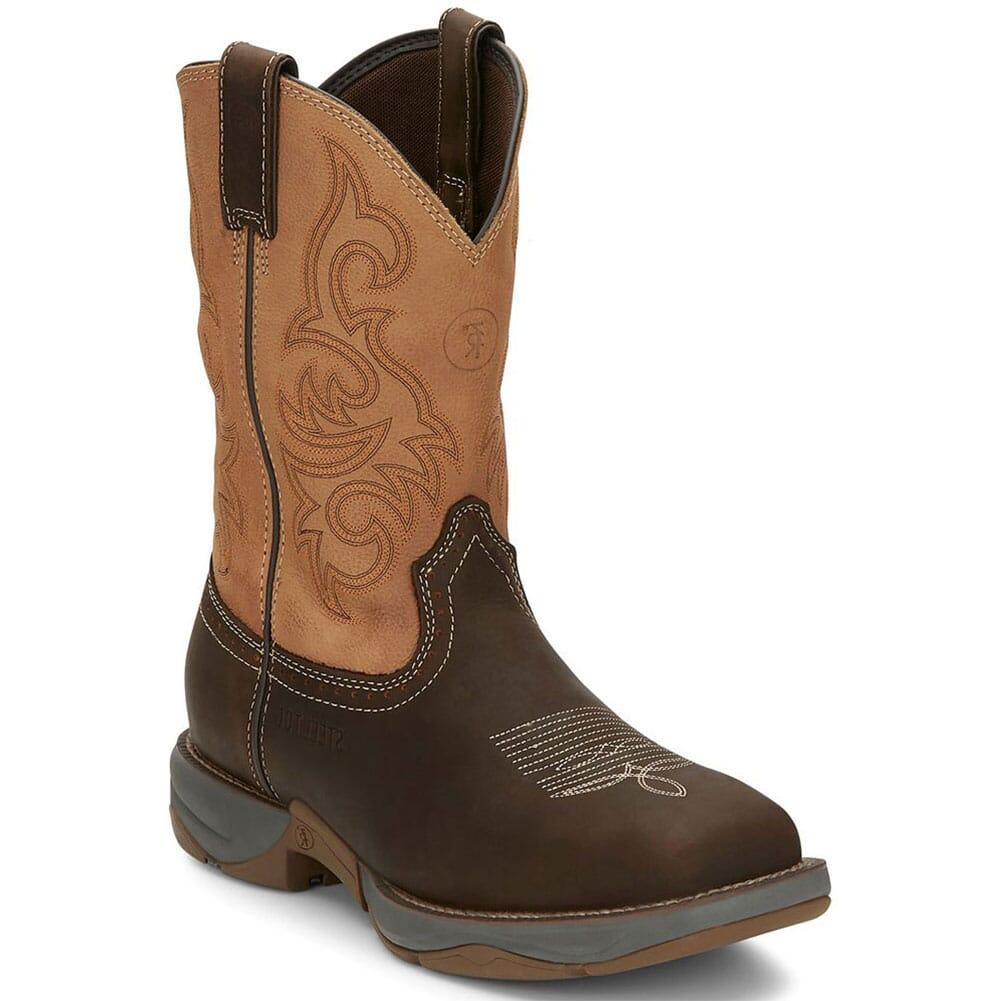 RR3350 Tony Lama Men's Junction Western Safety Boots - Dusty