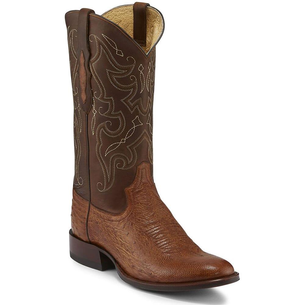 TL5375 Tony Lama Men's Patron Western Boots - Brown Tundra/Saddle