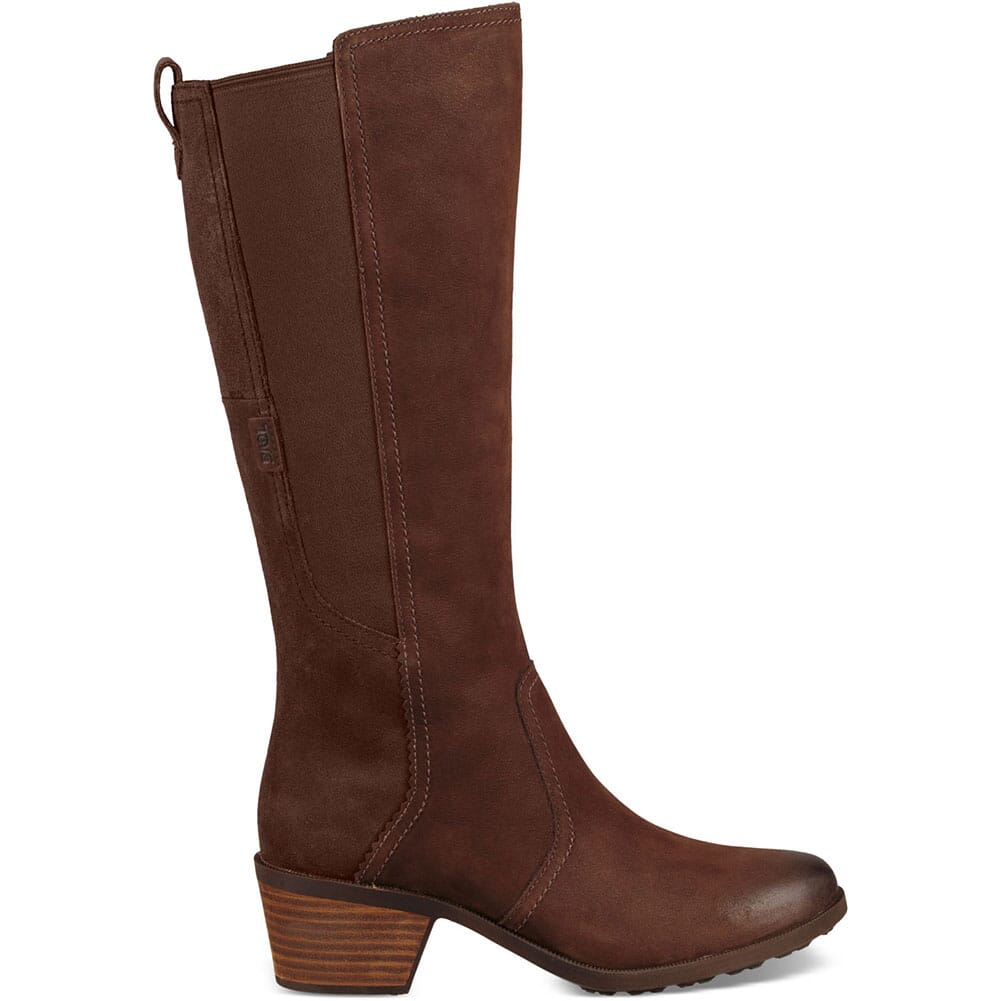 Teva Women's Anaya Tall WP Casual Boots - Chocolate Brown