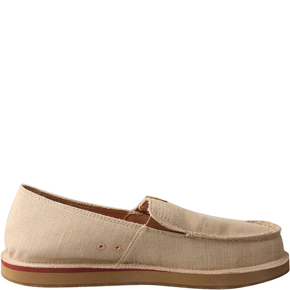 MCL0005 Twisted X Men's ecoTWX Slip On Loafers - Tan