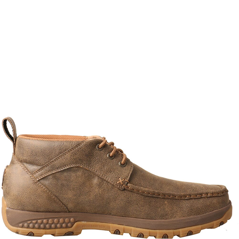 MXC0001 Twisted X Men's CellStretch Driving Moc Casual Chukka - Bomber
