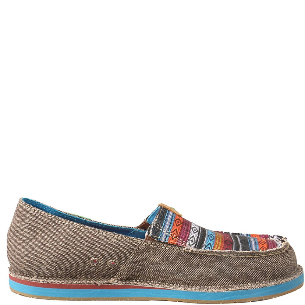 WCL0005 Twisted X Women's ecoTWX Slip-On Loafers - Dust/Multi