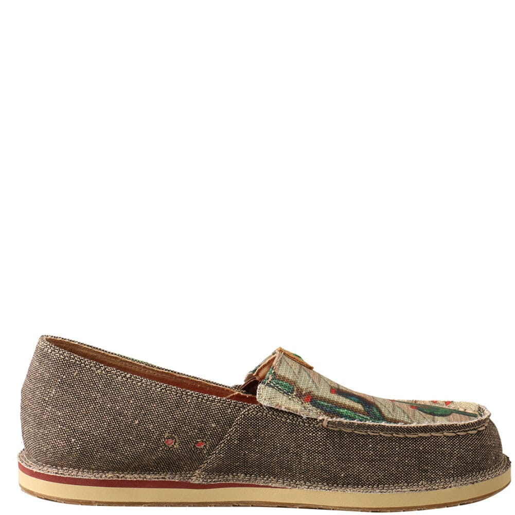 WCL0010 Twisted X Women's ecoTWX Slip-On Loafers - Dust/Cactus Print