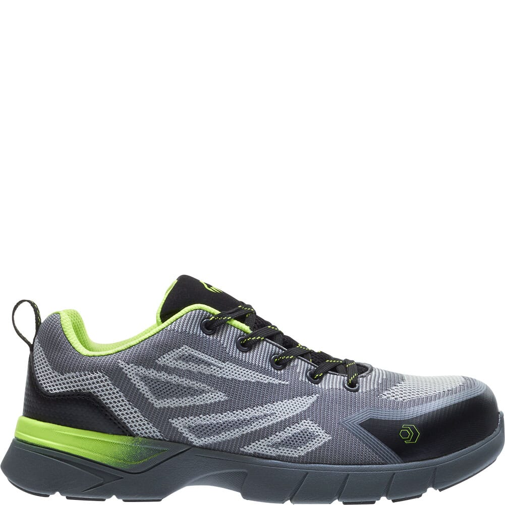 Wolverine Men's Jetstream 2 Carbonmax Safety Shoes - Grey/Green