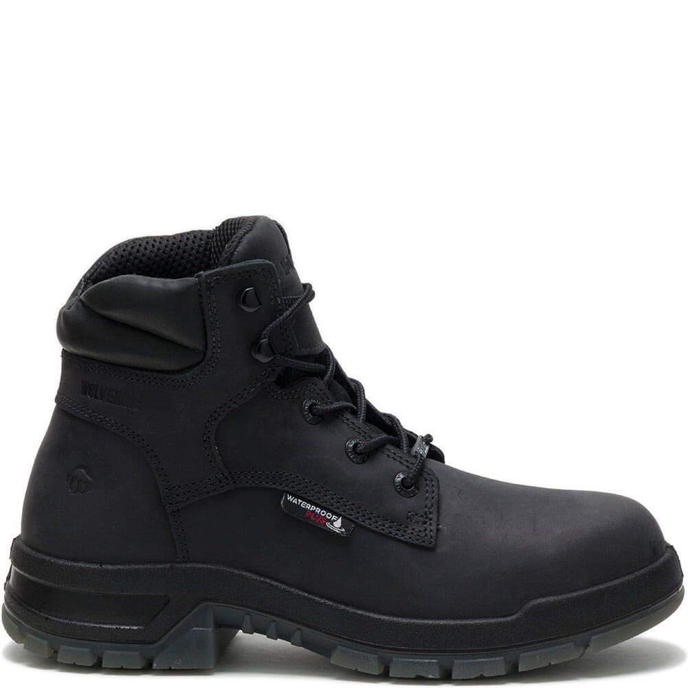 Wolverine Men's Ramparts Safety Boots - Black