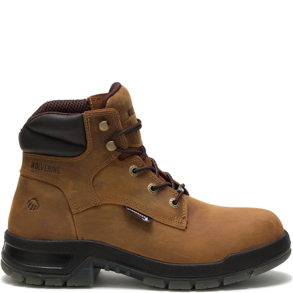 Wolverine Men's Ramparts WP Safety Boots - Tan