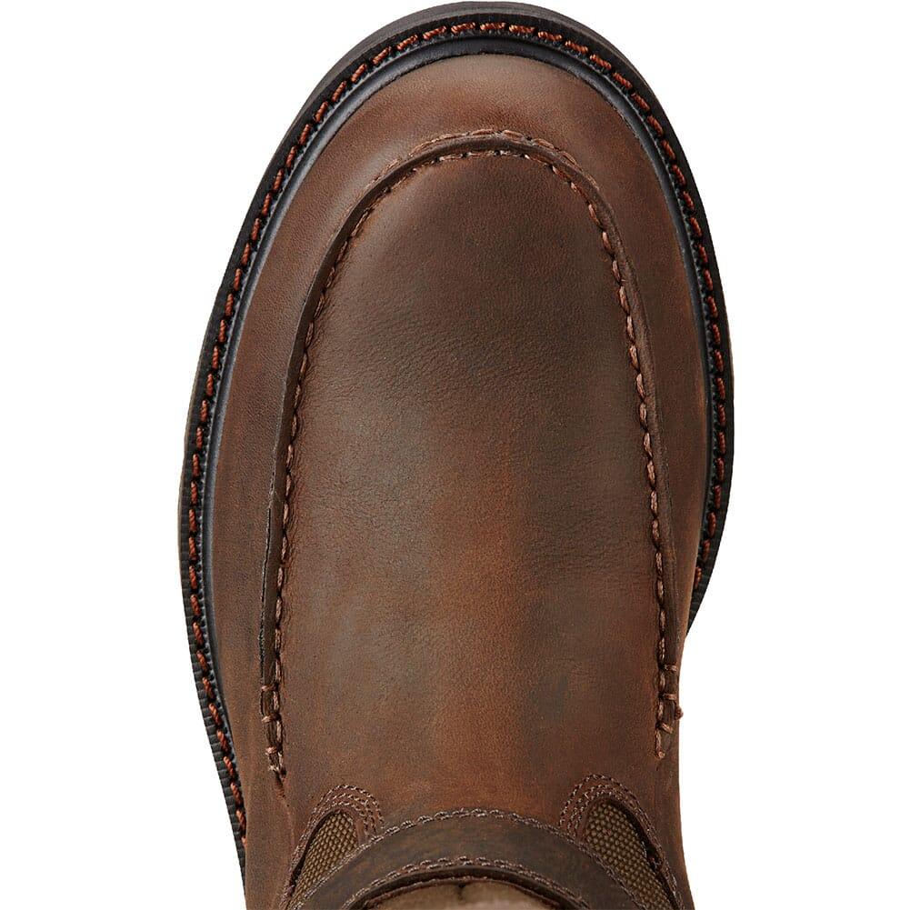 Ariat Men's Groundbreaker WP Safety Boots - Dark Brown