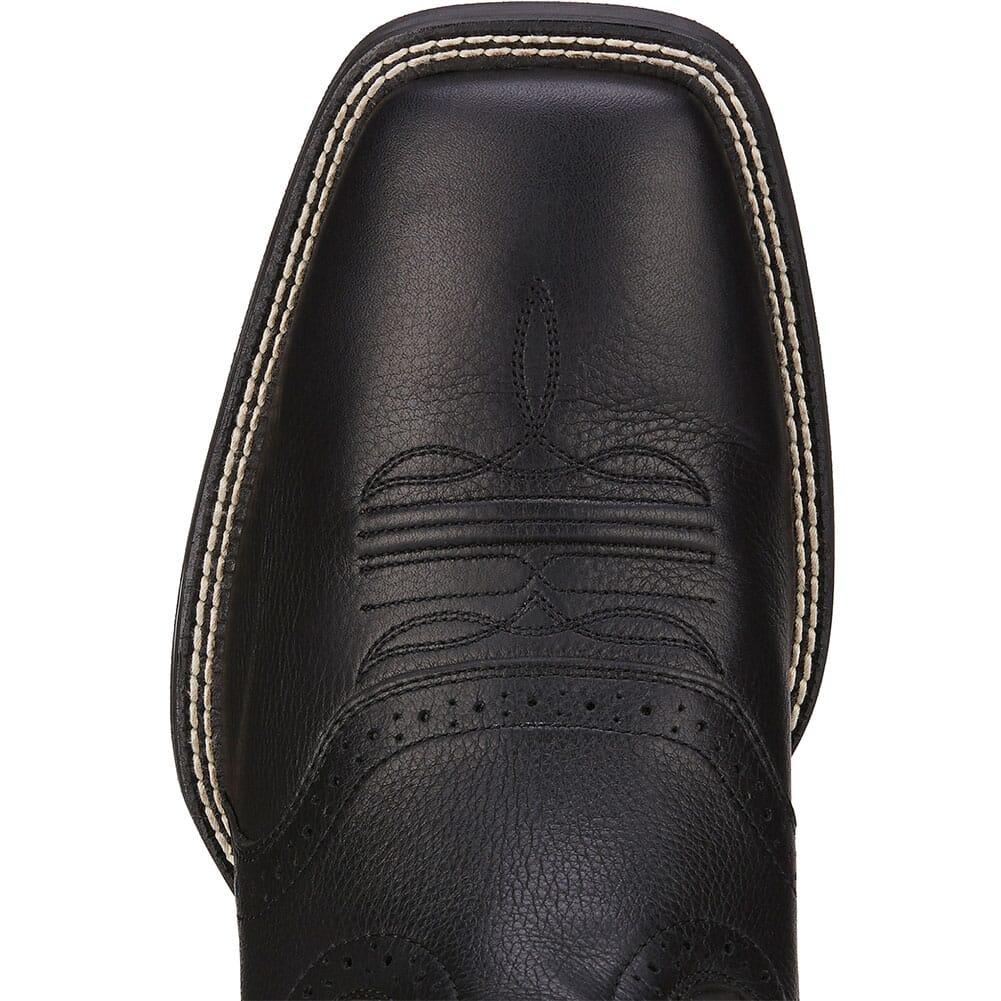 Ariat Men's Sport Western Boots - Black Deertan