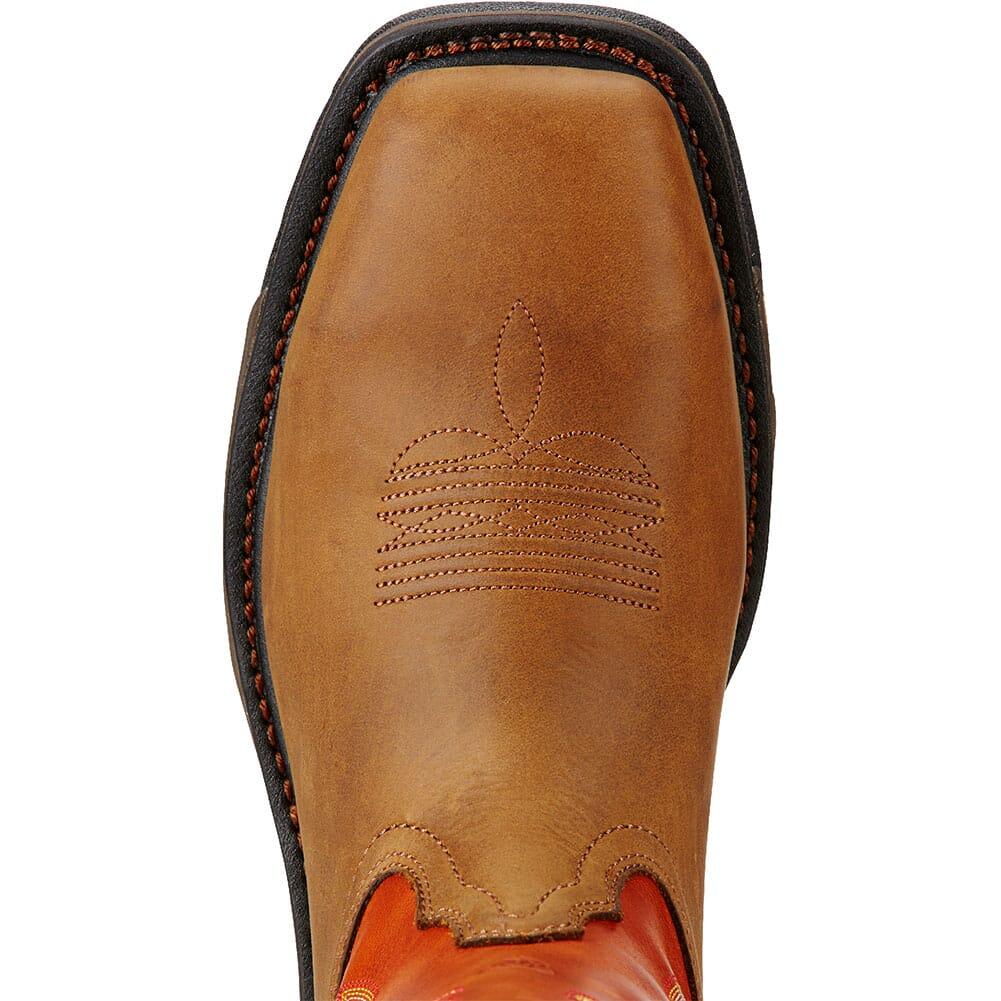 Ariat Men's WorkHog CSA Safety Boots - Dark Earth