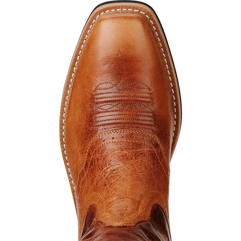 Ariat Men's Heritage Roughstock VentTEK Western Boots - Gingersnap/Tan