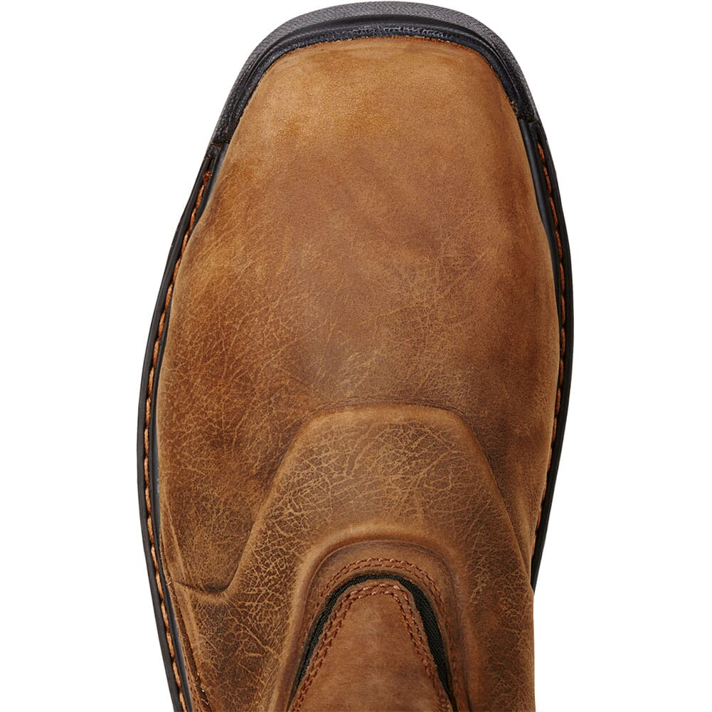Ariat Men's Intrepid H2O Safety Boots - Brown