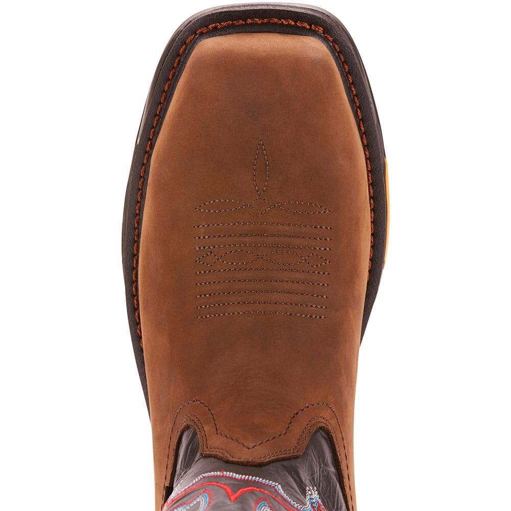 Ariat Men's WorkHog XT WP Work Boots - Tumbled Bark