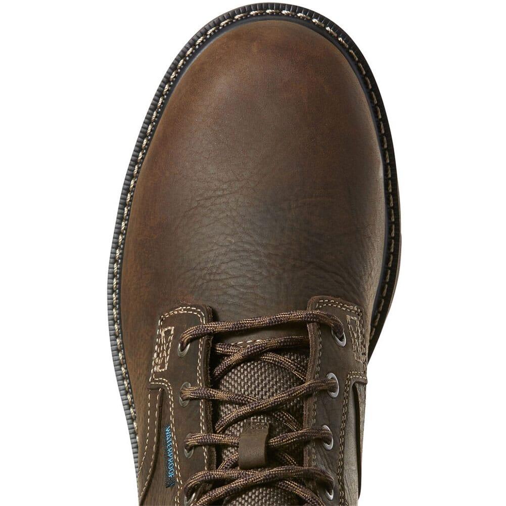 Ariat Men's Groundbreaker II WP Safety Boots - Dark Brown