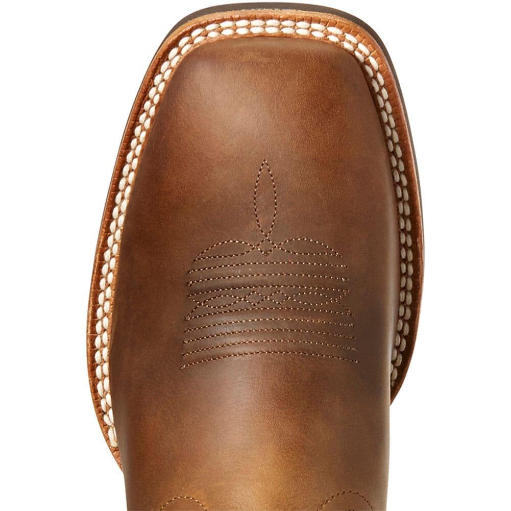 Ariat Men's Quickdraw VentTEK Western Boots - Distressed Brown