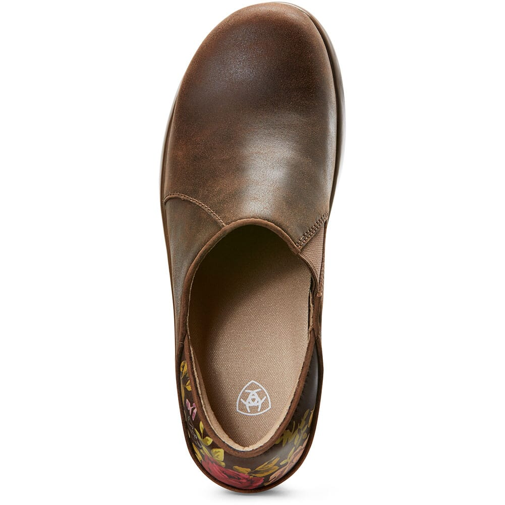 10027294 Ariat Women's Hera Expert Work Clogs - Antique Brown
