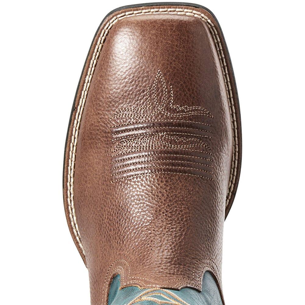 Ariat Men's Round Pen Western Boots - Copper Kettle