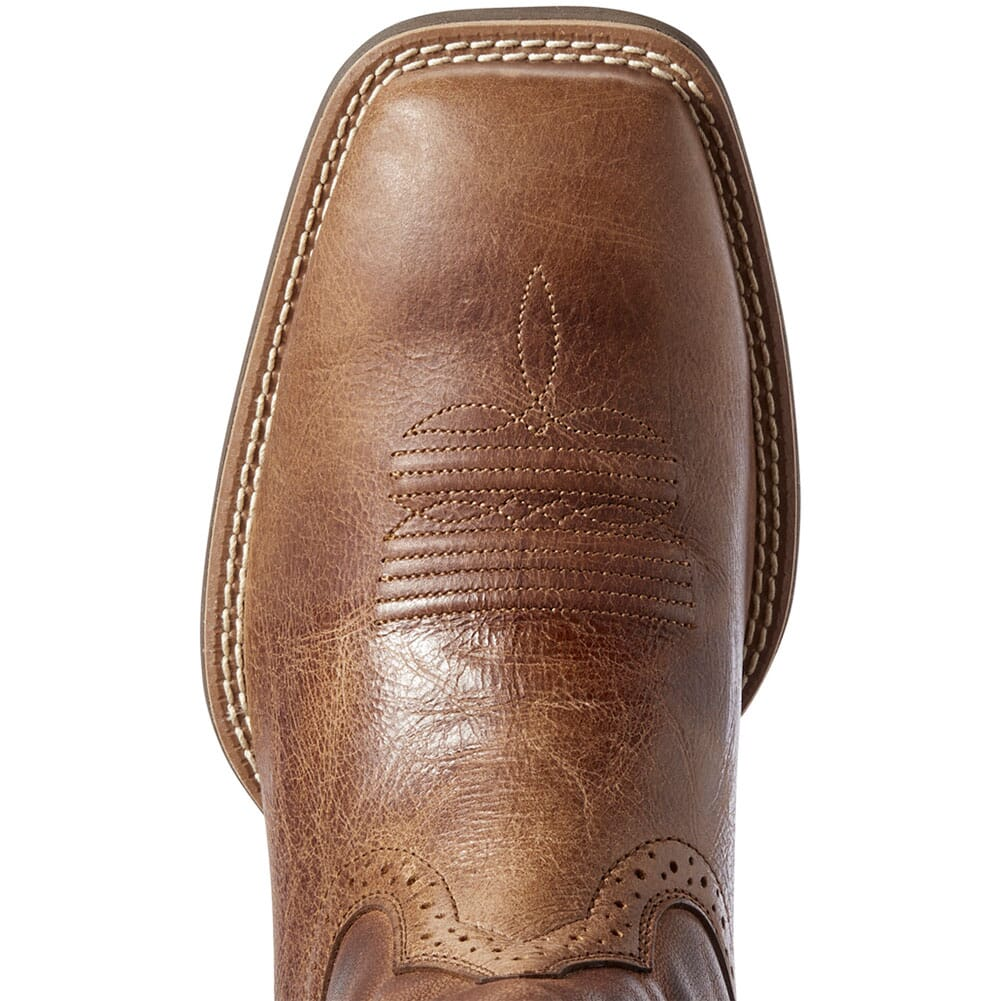 Ariat Men's Hybrid VentTEK Western Boots - Distressed Tan