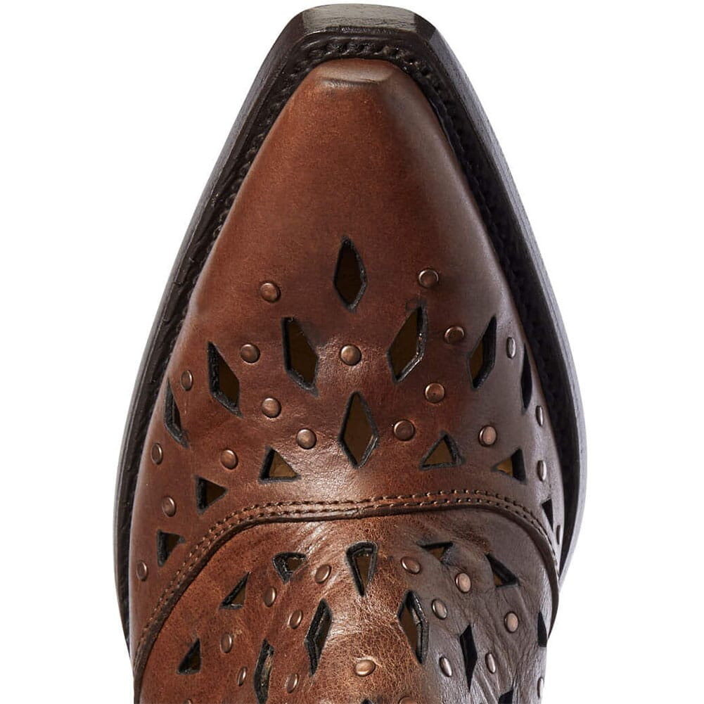 Ariat Women's Dixon Studded Western Boots - Amber