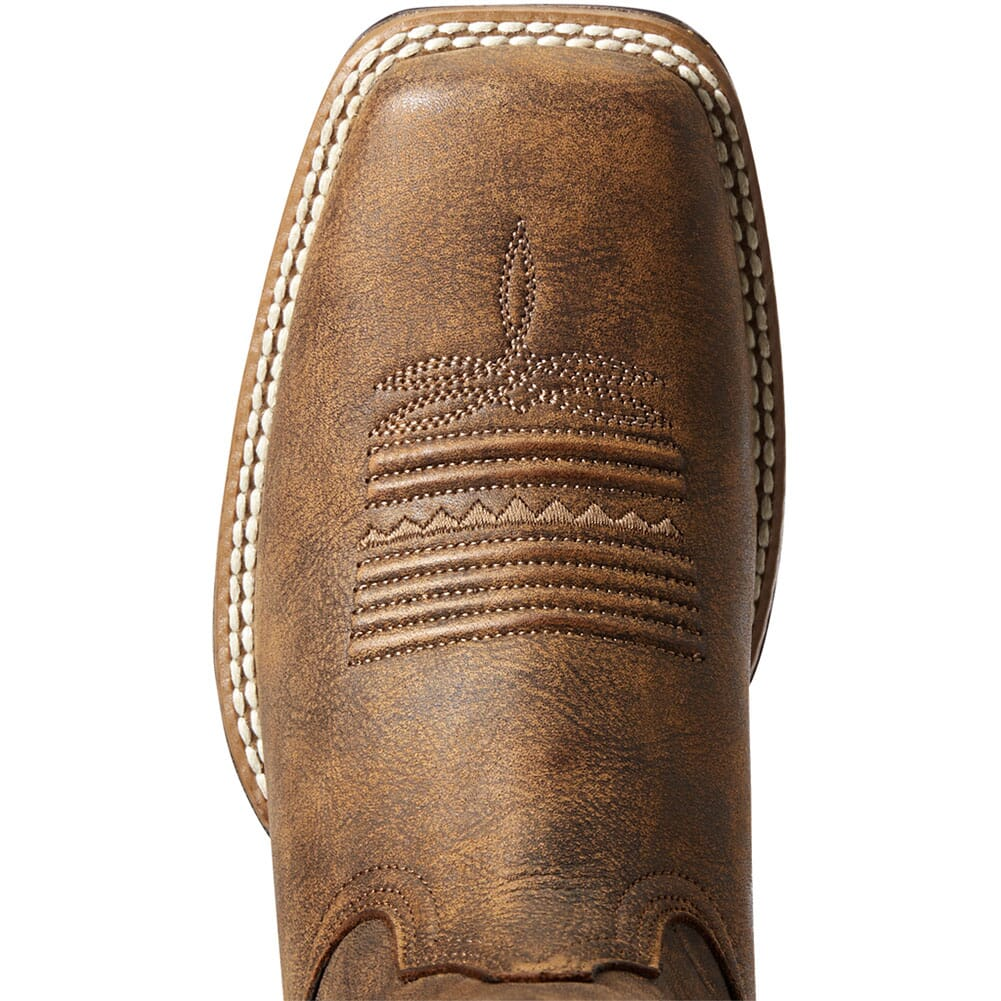 10034163 Ariat Women's Primetime Tack Western Boots - Tack Room Brown