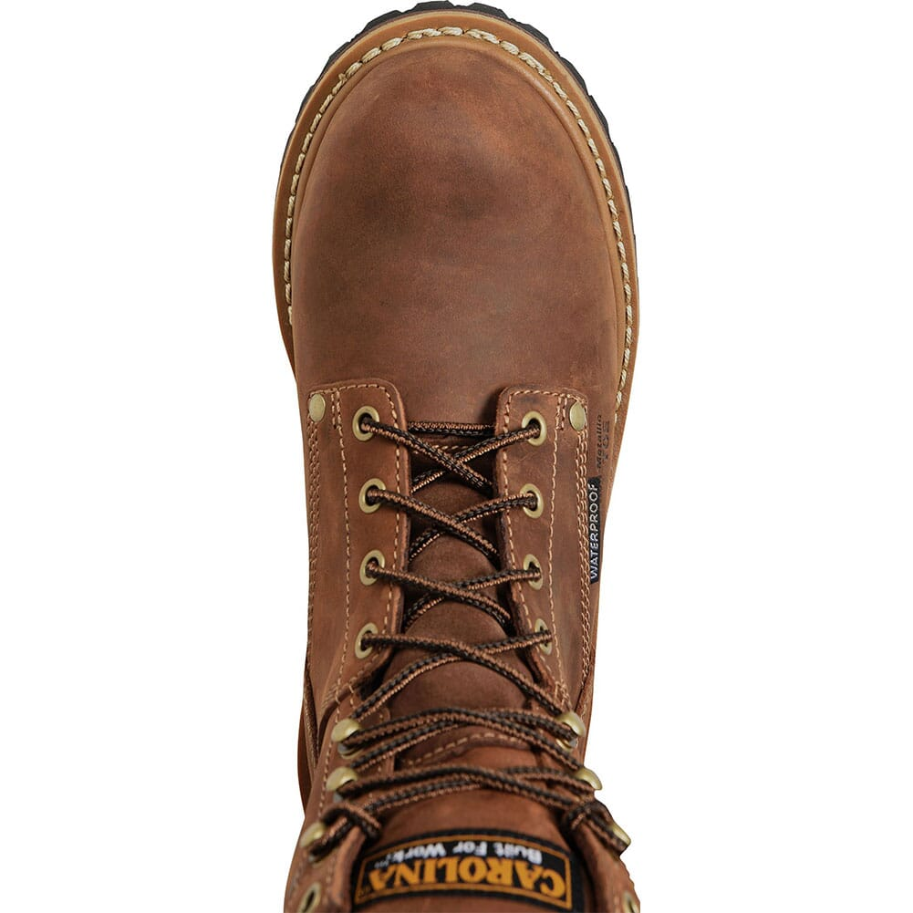 Carolina Women's Elm Safety Boots - Brown