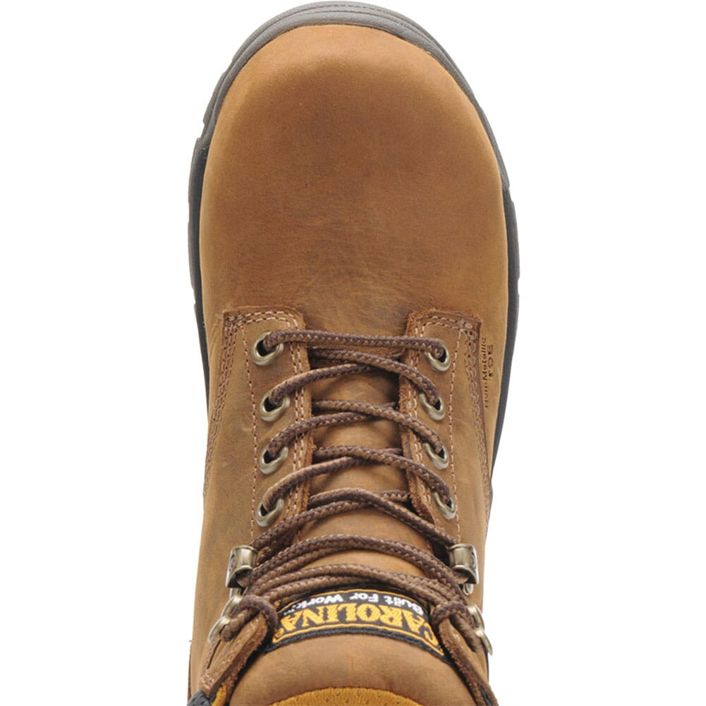 Carolina Women's EH Safety CT Boots - Brown