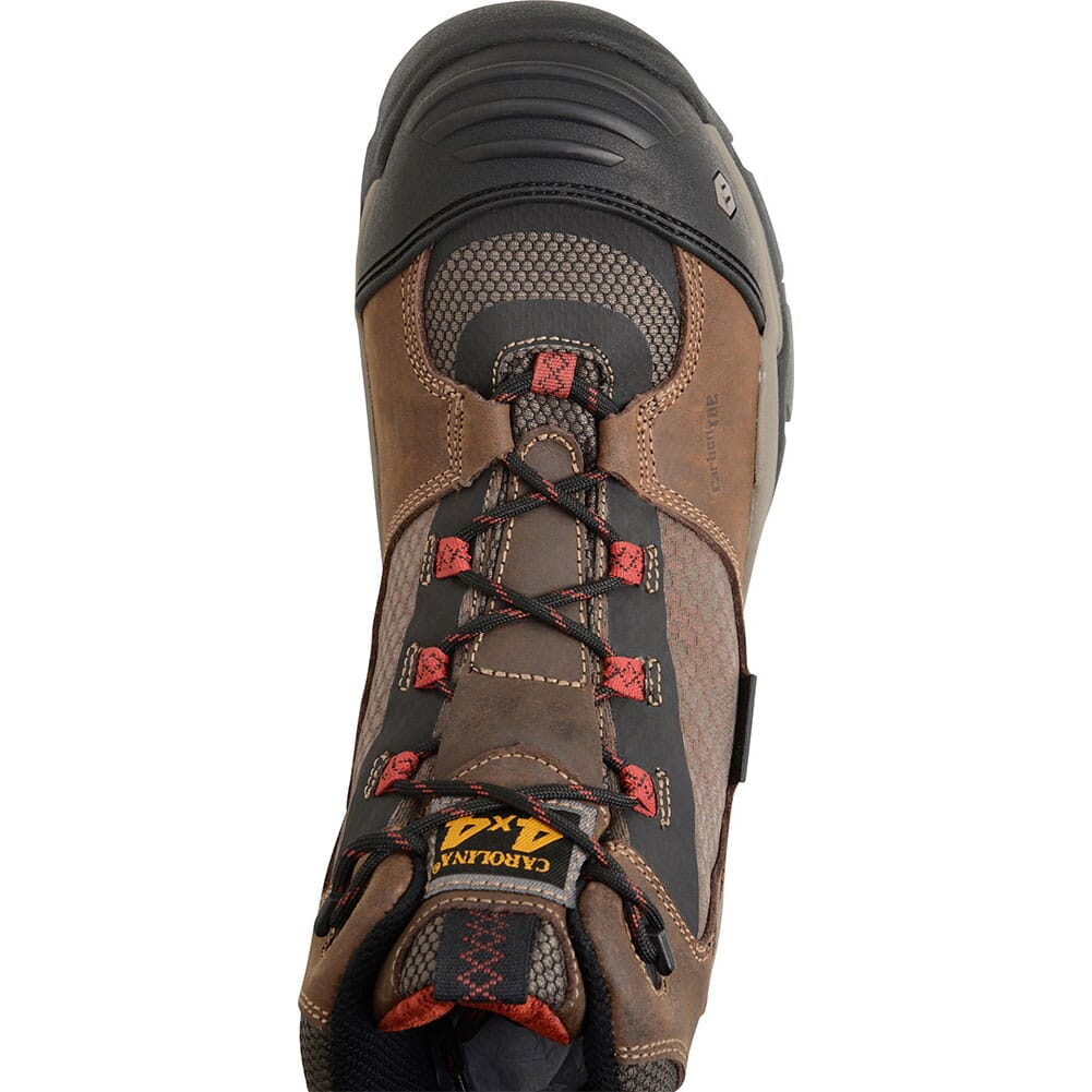 Carolina Men's EXT Carbon Safety Boots - Crazy Horse Olive