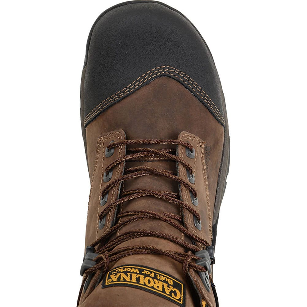 Carolina Men's ESD Waterproof Safety Boots - Brown