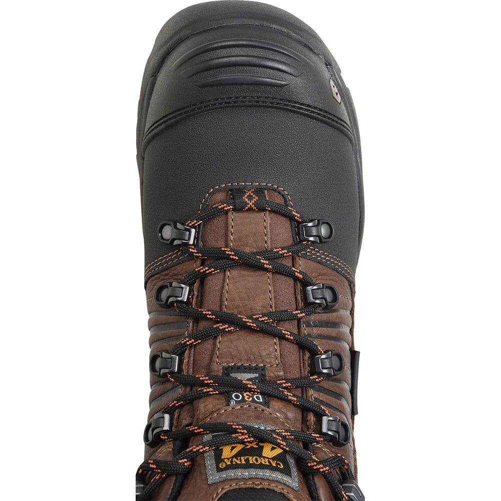 Carolina Men's Miter MetGuard Safety Boots - Brown