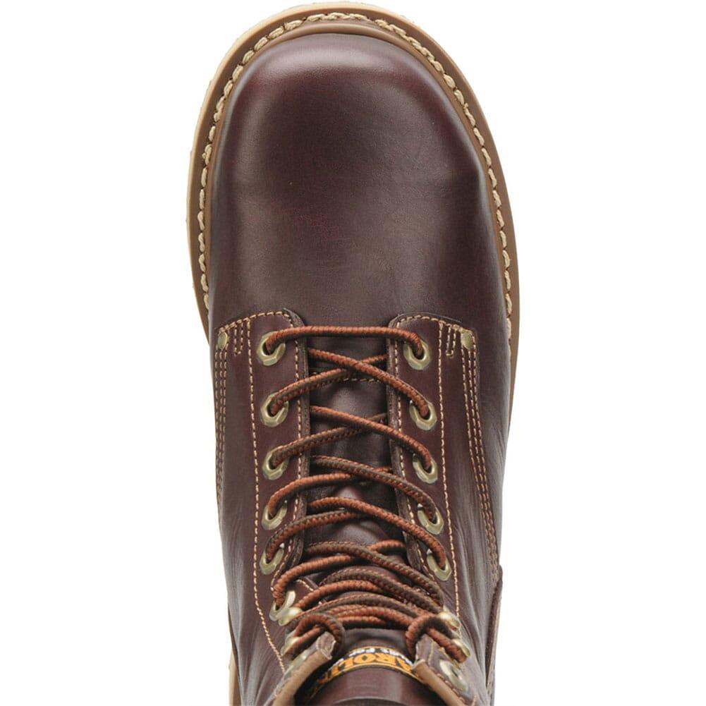 Carolina Men's Goodyear Welt Work Boots - Dark Oak