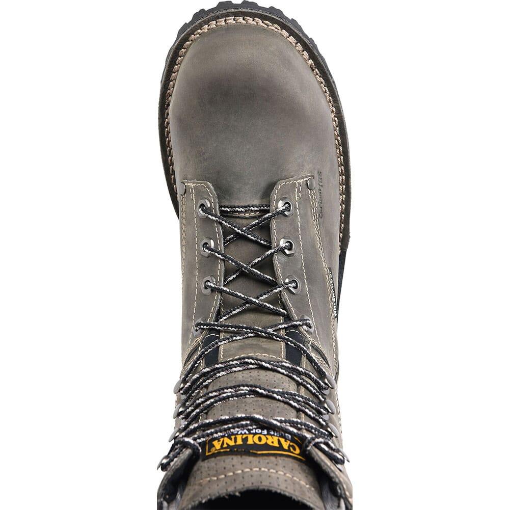Carolina Men's Waterproof Safety Boots - Grey/Black