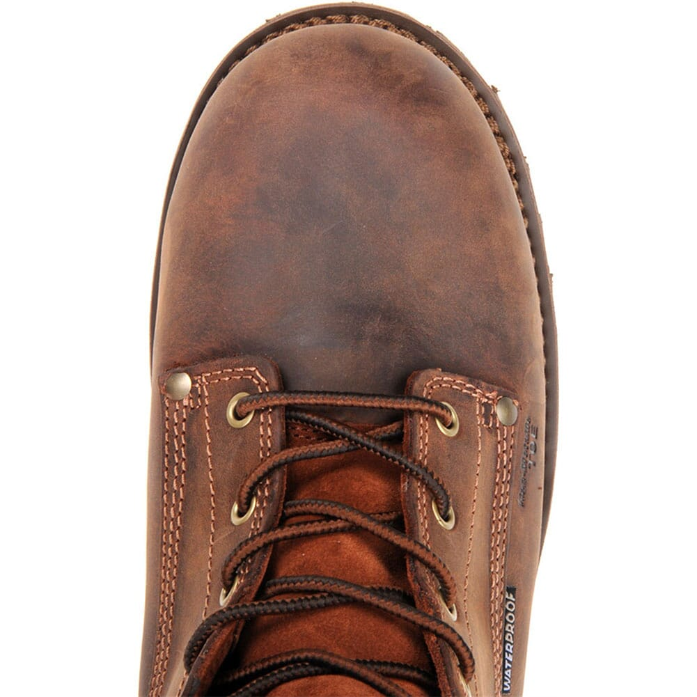 Carolina Men's Waterproof Work Boots - Brown