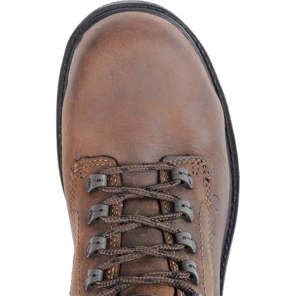 Carolina Men's Aluminum Toe Safety Boots - Dark Brown