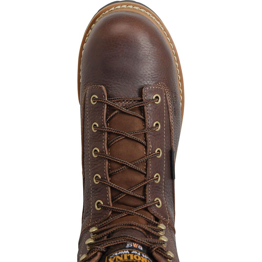 Carolina Men's Internal MetGuard Safety Boots - Brown