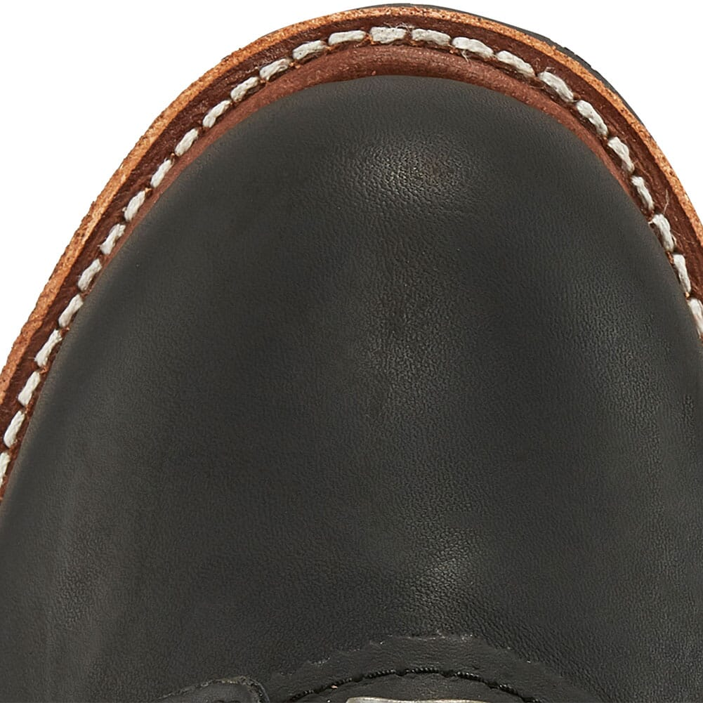 Chippewa Men's Rugged Oiled Safety Loggers - Black