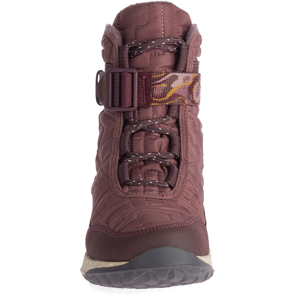 Chaco Women's Borealis Quilt WP Casual Boots - Mahogany