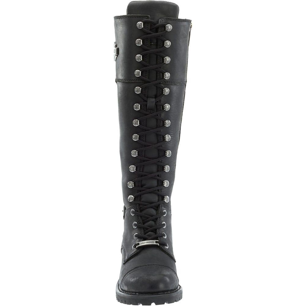 Harley Davidson Women's Beechwood Motorcycle Boots - Black