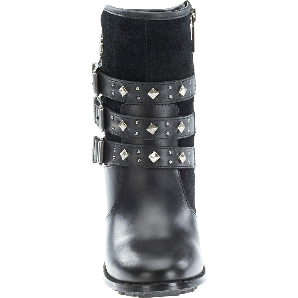 Harley Davidson Women's Abbey Motorcycle Boots - Black